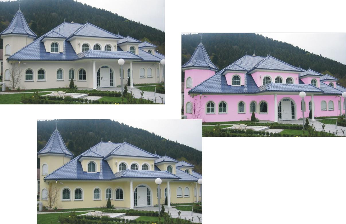 Raum- und Fassadengestaltung